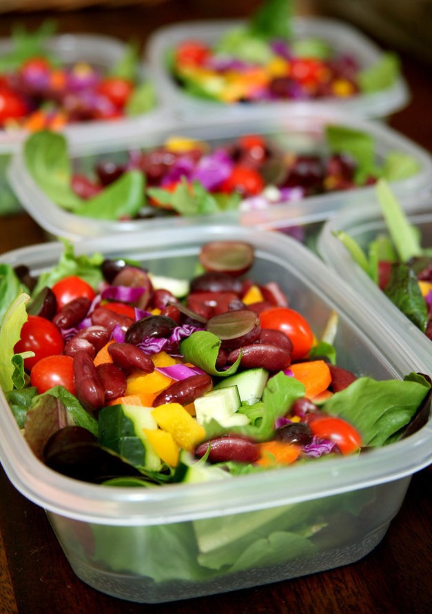 Healthy Food Bag: Five Salads That Stay Fresh