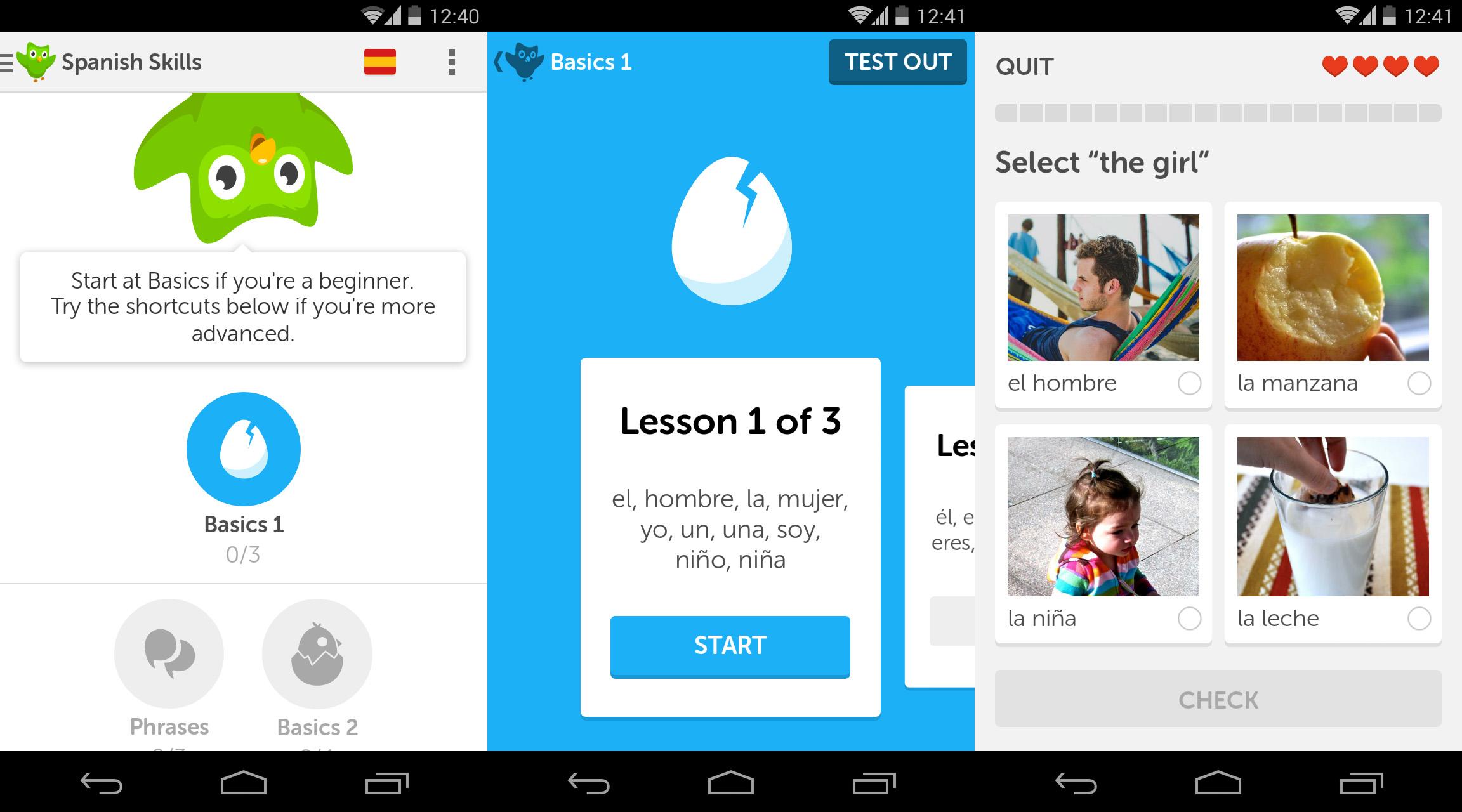 APP Happy: Duolingo